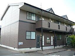 福岡県飯塚市花瀬の賃貸アパートの外観
