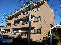 東京都町田市鶴川1丁目の賃貸マンションの外観