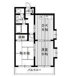 東京都板橋区小茂根の賃貸マンションの間取り