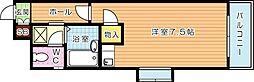 オリエンタル折尾(分譲)[11階]の間取り