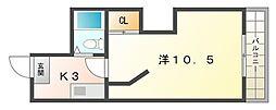 トゥリオーニ守口[2階]の間取り