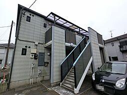 千葉県成田市東和田の賃貸アパートの外観