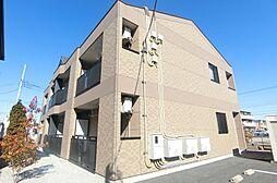 埼玉県越谷市レイクタウン1の賃貸アパートの外観