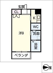 モルゲンレーテ[3階]の間取り