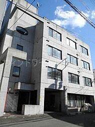 北海道札幌市豊平区平岸三条4丁目の賃貸マンションの外観