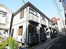 東京都足立区千住5丁目の賃貸アパートの外観