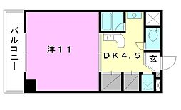 コンフォルト天山[302 号室号室]の間取り