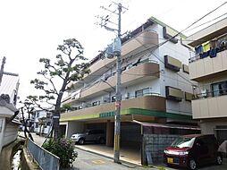 兵庫県伊丹市大鹿4丁目の賃貸マンションの外観