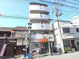 大阪府大阪市東住吉区田辺5丁目の賃貸マンションの外観