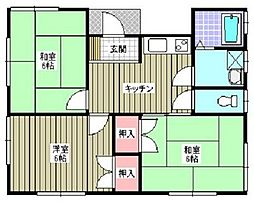 [一戸建] 埼玉県深谷市上柴町西4丁目 の賃貸【/】の間取り