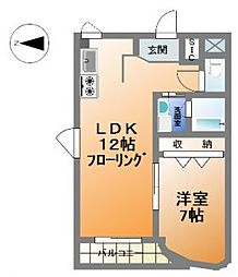ジョエロ堀江[9階]の間取り