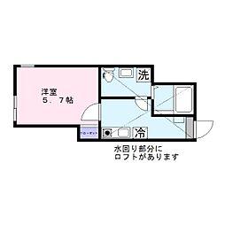 ウィンレックス横須賀[103号室]の間取り