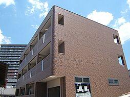 京都府宇治市六地蔵札ノ辻の賃貸マンションの外観