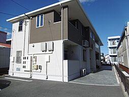 静岡県浜松市中区高丘北4丁目の賃貸アパートの外観