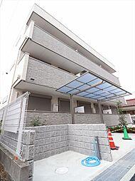 大阪府摂津市千里丘東2丁目の賃貸アパートの外観