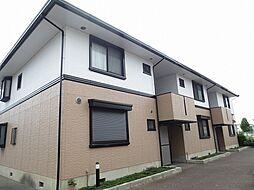 兵庫県加古川市加古川町河原の賃貸アパートの外観