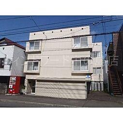 北海道札幌市豊平区平岸二条3丁目の賃貸マンションの外観