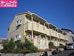 愛知県名古屋市天白区元植田2の賃貸アパートの外観