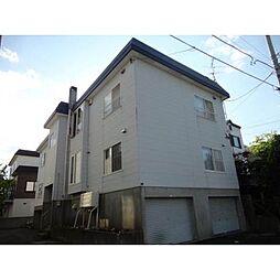 北海道札幌市豊平区月寒東三条7丁目の賃貸アパートの外観