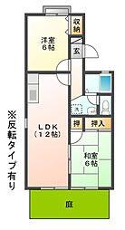 セジュールMATUBARA[1階]の間取り