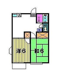 スカイヴェルテ[2階]の間取り