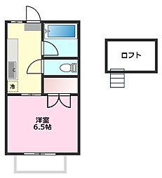サンエクセル[2階]の間取り