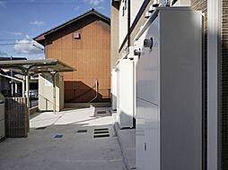 兵庫県姫路市飾磨区天神の賃貸アパートの外観