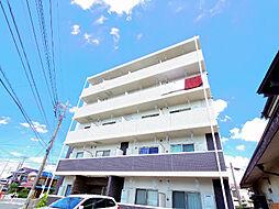 埼玉県新座市大和田1丁目の賃貸マンションの外観