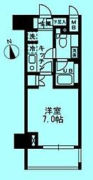 ウィスティリア高津[2階]の間取り