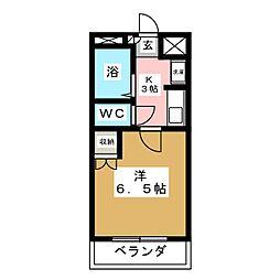 ピュアハウス アイハラ[3階]の間取り