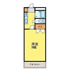 プレジデント吉野本町[-号室]の間取り