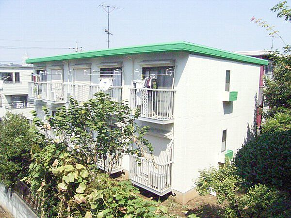 プチハウス[2階]の外観