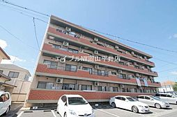 岡山県岡山市中区海吉の賃貸マンションの外観