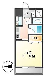 AXIS桜通内山[15階]の間取り