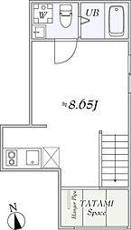 LaLa BlanC[2階]の間取り