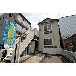 愛知県稲沢市駅前3丁目の賃貸アパートの外観