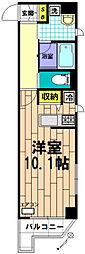 レジス立川曙町[701号室]の間取り