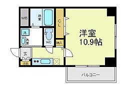 SUN COMODE[2階]の間取り