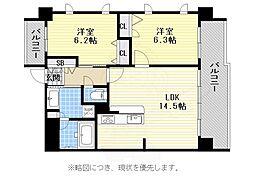 唐人町駅 16.3万円