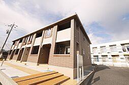 茨城県日立市田尻町5丁目の賃貸アパートの外観
