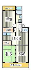 エスポアール如春堂[1階]の間取り