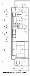 西鈴蘭台シティコート[1階]の間取り