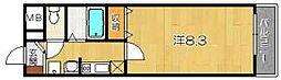 ジュネス桂[3階]の間取り