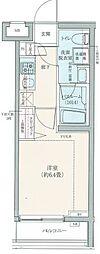 ロアール豊島長崎[3階]の間取り