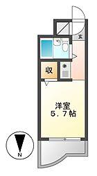 グランドサイト滝子[4階]の間取り
