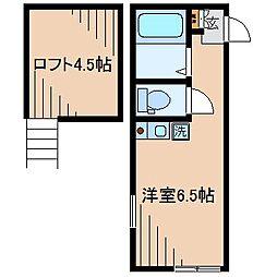ピアチェーレ[1階]の間取り