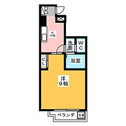 コンフォート山花[2階]の間取り