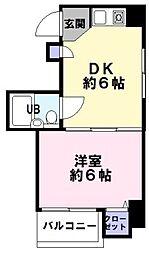 サンヴィラ神戸[4階]の間取り