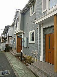 神奈川県茅ヶ崎市室田2丁目の賃貸アパートの外観