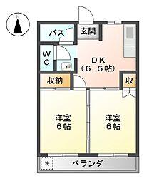 藤栄ビル[3階]の間取り